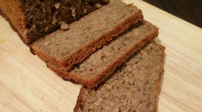 Brot mit weniger Mehl